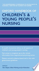 Oxford Handbook Of Children S And Young People S Nursing