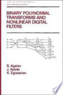 Binary Polynomial Transforms and Non-Linear Digital Filters