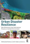Urban Disaster Resilience Pdf/ePub eBook