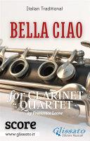 Pdf Bella Ciao - Clarinet Quartet (score) Telecharger