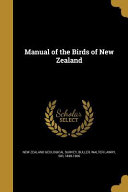 MANUAL OF THE BIRDS OF NEW ZEA