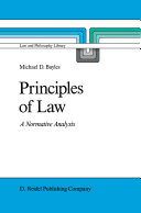 Principles of Law Pdf/ePub eBook