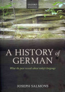 A History of German