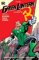 Green Lantern Corps  Beware Their Power Vol  1