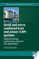 Small and Micro Combined Heat and Power  CHP  Systems