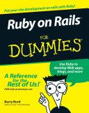 Ruby on Rails For Dummies Pdf/ePub eBook