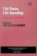 City Taxes, City Spending