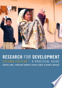 Research for Development Book