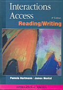 Interactions Access Reading Writing 4 E