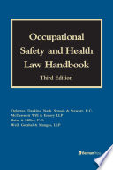 Occupational Safety and Health Law Handbook