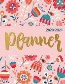 2020 2021 Planner Weekly And Monthly
