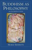 Buddhism as Philosophy Pdf/ePub eBook