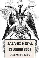 Satanic Metal Coloring Book
