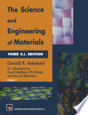The Science and Engineering of Materials Book