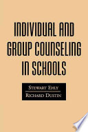 Individual and Group Counseling in Schools Book