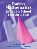 Cover of Teaching Mathematics in Middle School