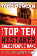The Top Ten Mistakes Salespeople Make And How To Avoid Them
