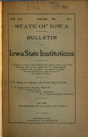 Bulletin of State Institutions