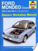 Ford Mondeo Diesel Service and Repair Manual
