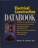 Electrical Construction Databook Book PDF
