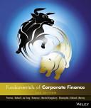 Cover of Fundamentals of Corporate Finance Australasian 2e + Istudy Version 2 Registration Card