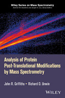 Analysis of Protein Post-Translational Modifications by Mass Spectrometry [Pdf/ePub] eBook