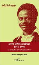 Pdf Seth Sendashonga 1951-1998 Telecharger