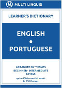 English-Portuguese Learner's Dictionary (Arranged by Themes, Beginner - Intermediate Levels) [Pdf/ePub] eBook