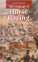 Pdf The Language of Horse Racing
