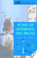Methods for Environmental Trace Analysis Book