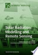 Solar Radiation  Modelling and Remote Sensing
