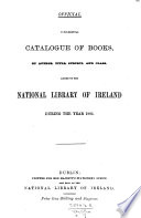 Supplemental catalogue of books  by author  title  subject and class  added     from October 1874 to December 1879  1893
