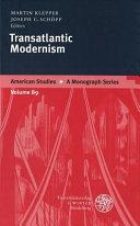 Transatlantic Modernism