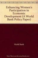 Enhancing Women's Participation in Economic Development