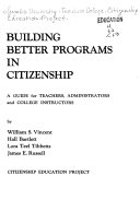 Building Better Programs In Citizenship Book