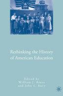 Rethinking the History of American Education [Pdf/ePub] eBook