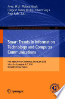 Smart Trends in Information Technology and Computer Communications