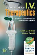 Cover of Manual of I.V. Therapeutics