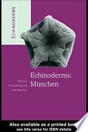 Echinoderms: Munchen