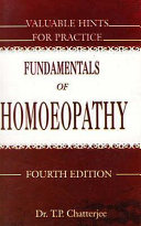 Fundamentals of Homoeopathy and Valuable Hints for Practice