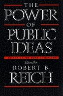 The Power of Public Ideas