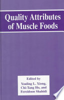 Quality Attributes Of Muscle Foods Book PDF