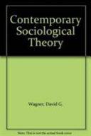 Contemporary Sociological Theory
