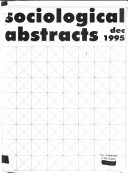 Sociological Abstracts Book