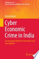 Cyber Economic Crime in India