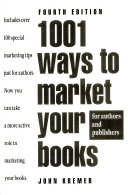 One Thousand and One Ways to Market Your Books