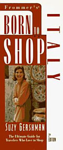 Frommer s Born to Shop Italy Book