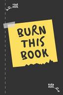 Burn This Book Journal Pdf/ePub eBook
