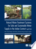 Natural Water Treatment Systems for Safe and Sustainable Water Supply in the Indian Context  Saph Pani Book