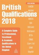 British Qualifications 2018